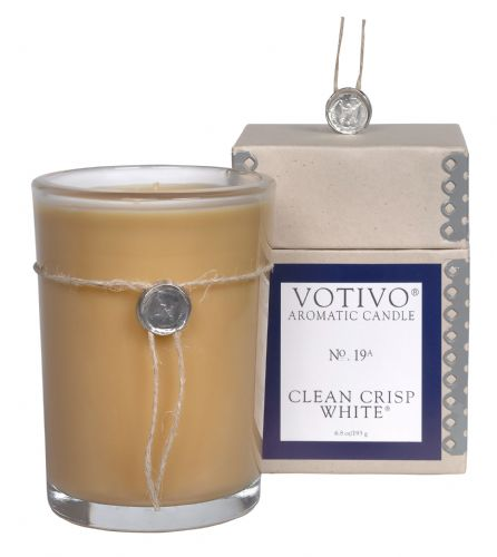 Aromatic Candle - Clean Crisp White